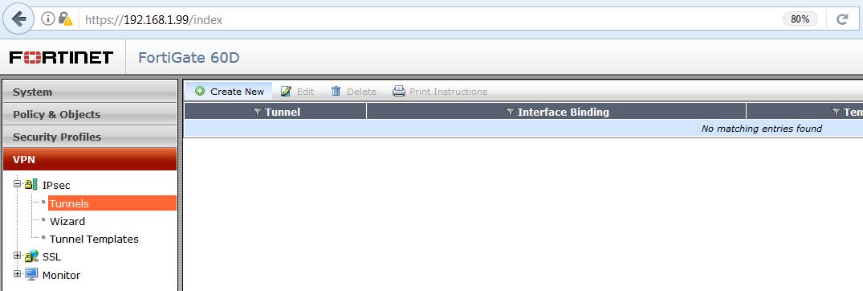 konfigurácia IPsec fortigate 1