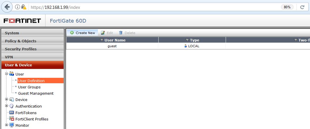 Vzdialený prístup do siete fortigate user 1