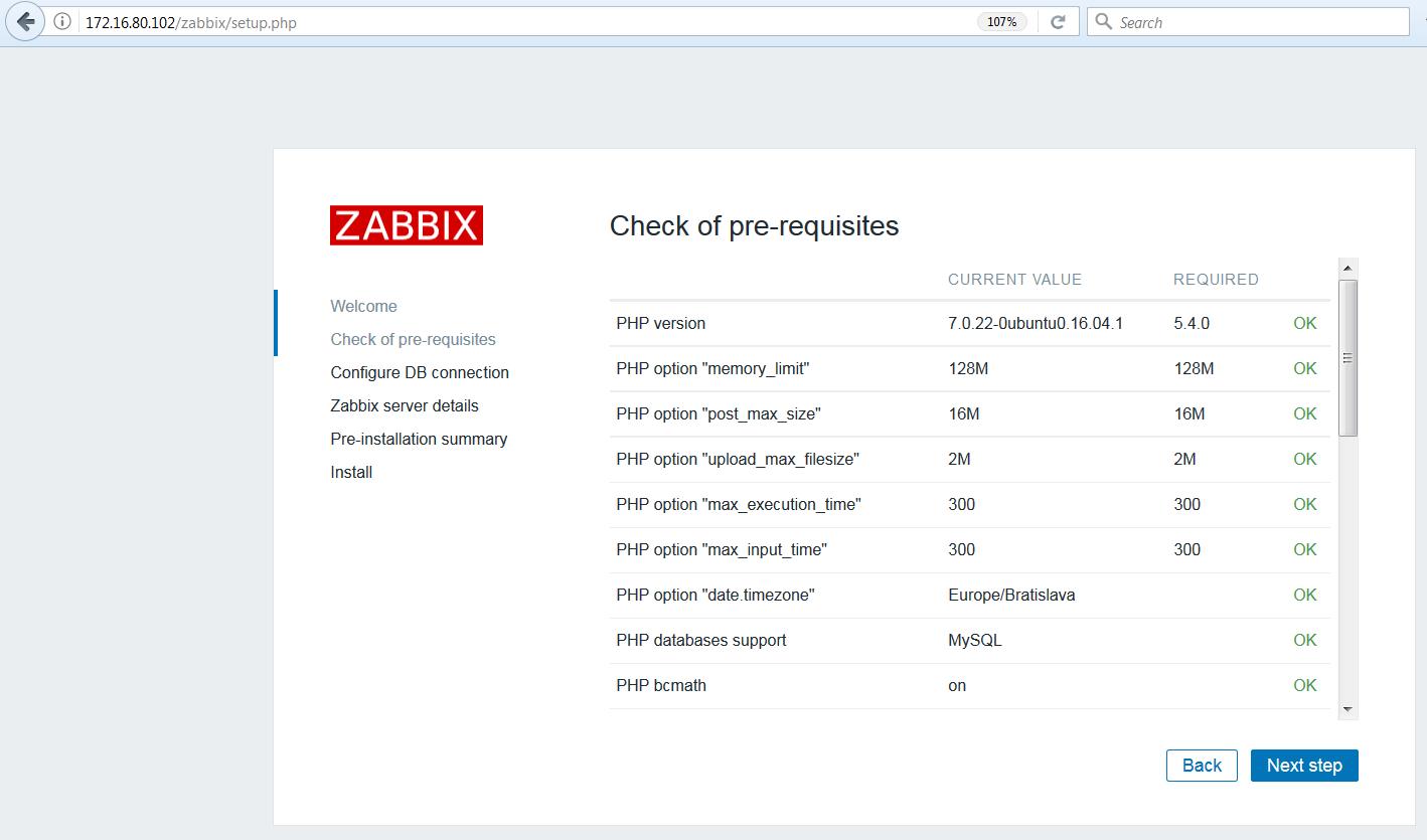 monitoring siete zabbix 2