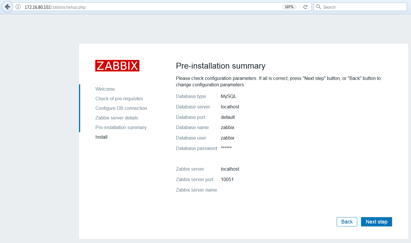 monitoring siete zabbix 5
