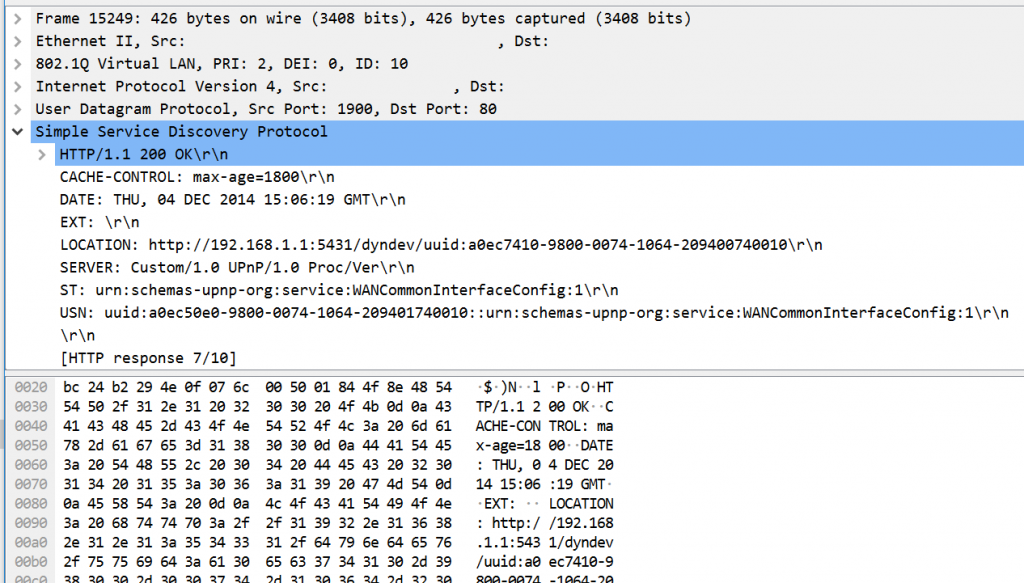 DDOS UDP wireshark 2